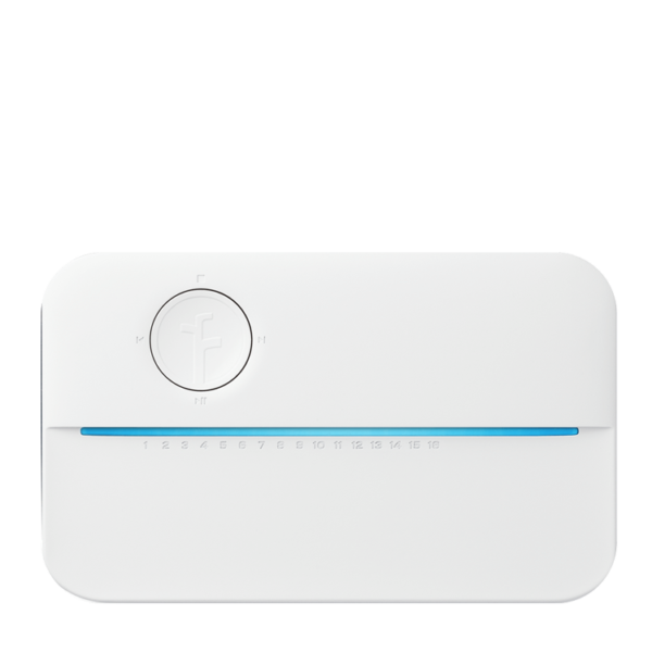 rachio control panel ran by Alert 360 Home Security automation