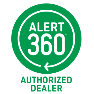 Alert 360 authorized dealer logo