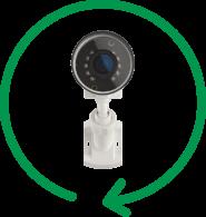 Alert 360 sleek Bullet camera