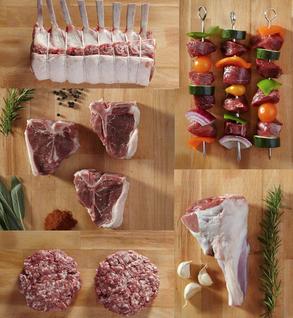 whole lamb (cut B)