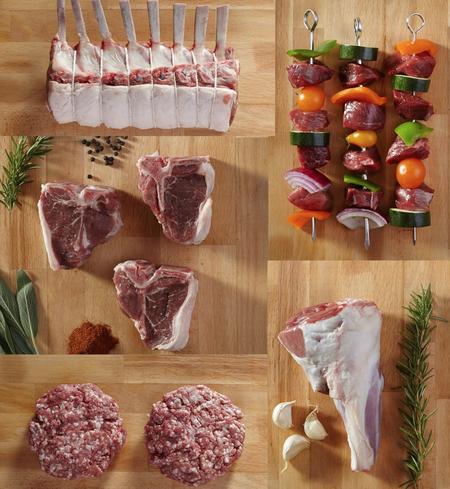 half lamb (cut B)