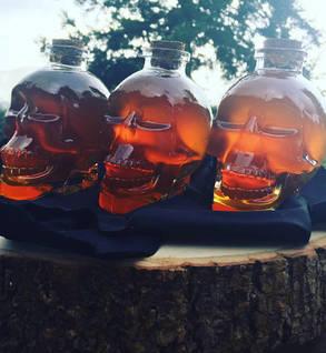 Blackberry Honey Skull Jar