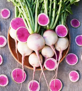 """Watermelon"" Radishes"