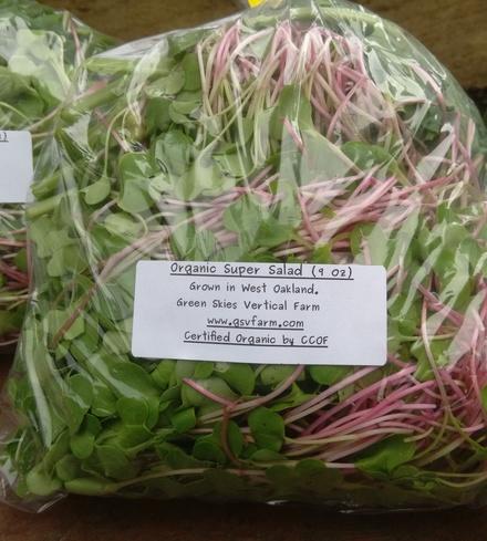 Organic Super Salad