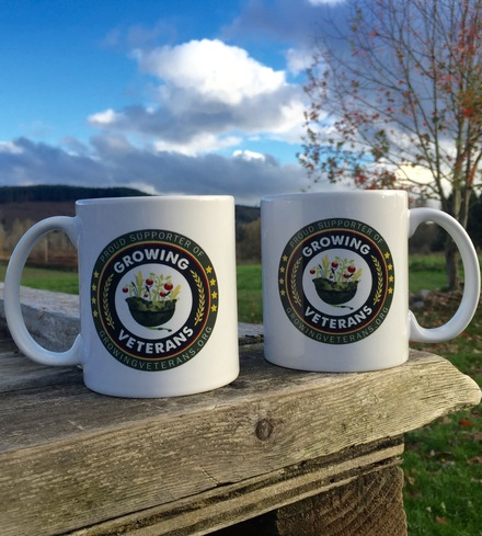 Growing Veterans Logo Mug