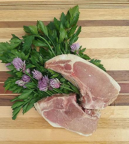 Heritage Pork Loin Chops
