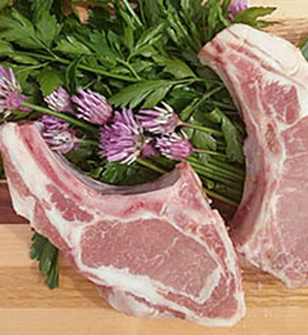 Heritage Pork Rib Chops