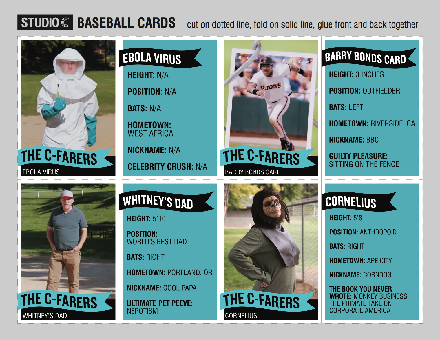 Studio C Baseball Cards Byutv