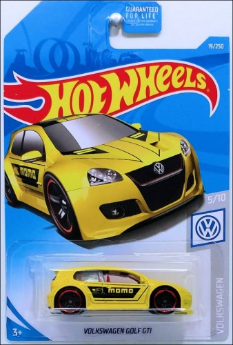 Volkswagen Golf Gti Collect Hot Wheels