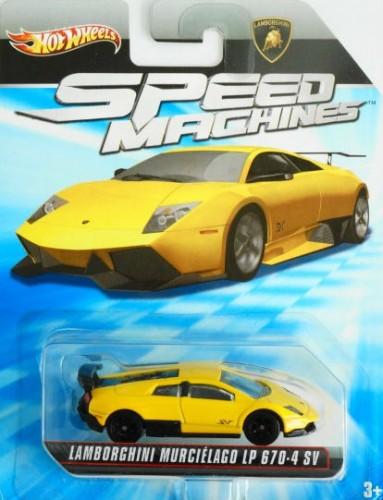 Lamborghini Murcielago Lp 670 4 Sv Collect Hot Wheels
