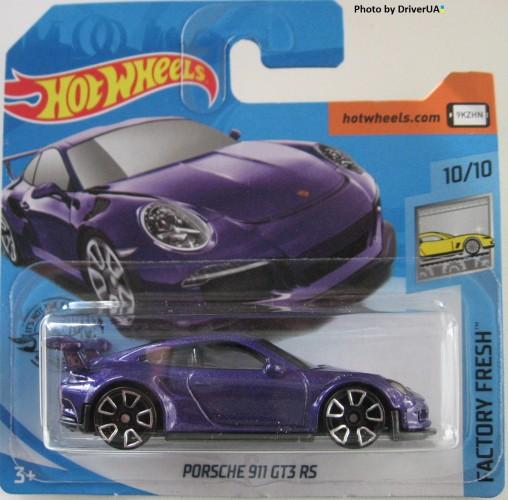 Hot Wheels 2019 Porsche 911 GT3 RS Purple Lila NEU OVP 10//10 FYC47 246//250