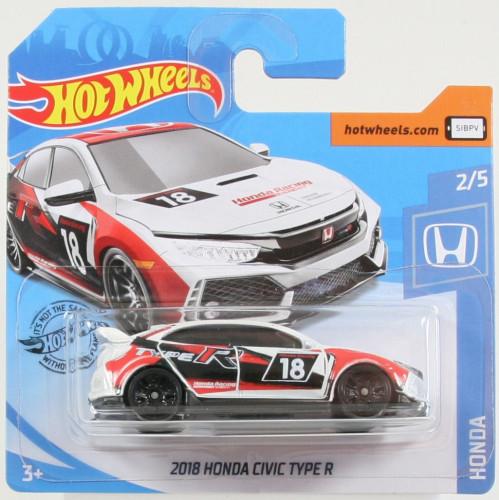 "´2018 HondaCivic Type R Serie /""Honda/"" 2//5 Hot Wheels 2020"