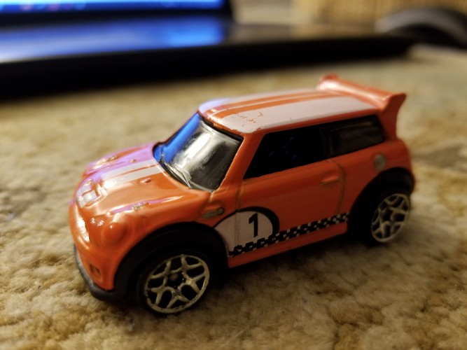 Mini Cooper S Challenge Collect Hot Wheels