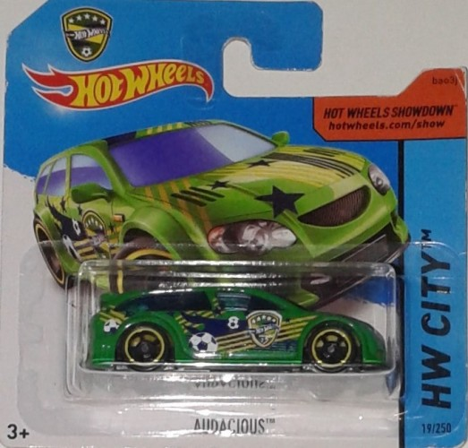 2014 Hot Wheels HW CITY Audacious 19//250 Green Version