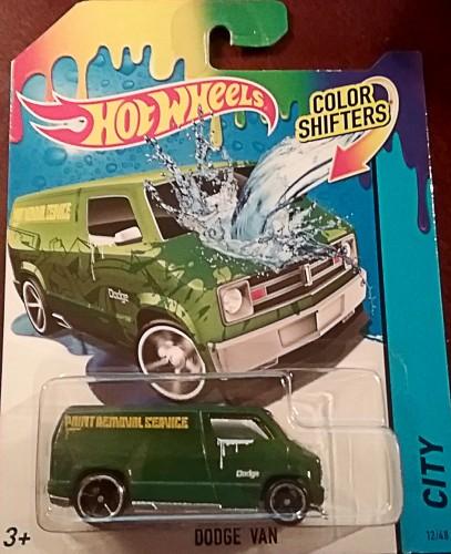77 Dodge Van Collect Hot Wheels