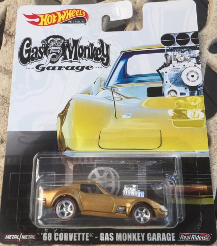 68 Corvette - Gas Monkey Garage - Collect Hot Wheels