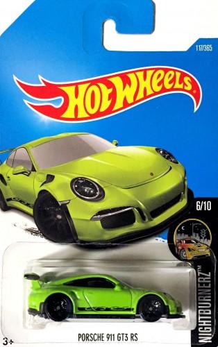 Porsche 911 GT3 RS - Collect Hot Wheels