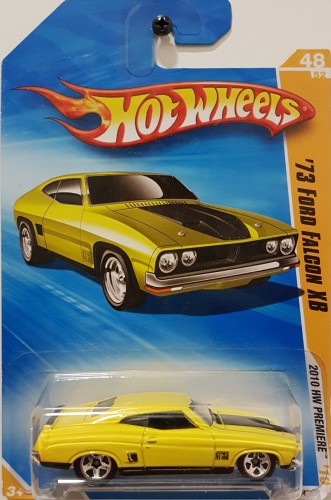 73 Ford Falcon XB - Collect Hot Wheels