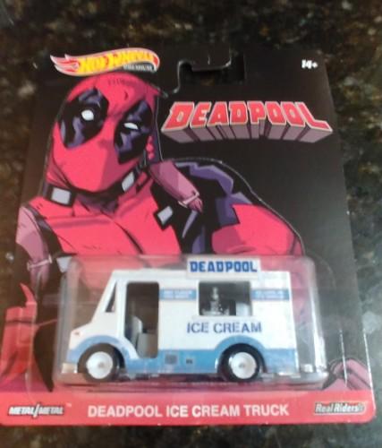 Deadpool Ice Cream Truck - Collect Hot Wheels