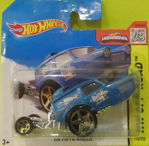 Blue Int. Card 2015 Hot Wheels HW OFF-ROAD HW Poppa Wheelie 115//250