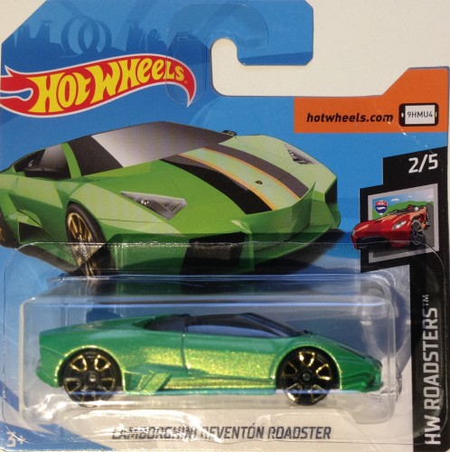 Lamborghini Reventon Roadster Collect Hot Wheels
