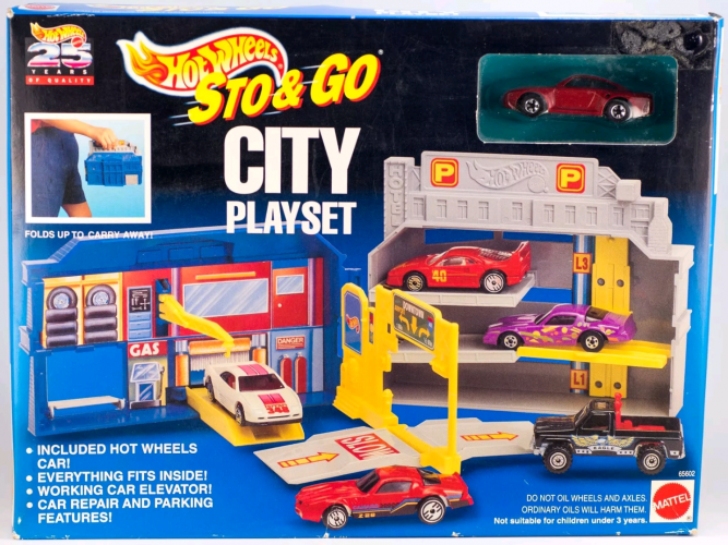 City Playset Collect Hot Wheels