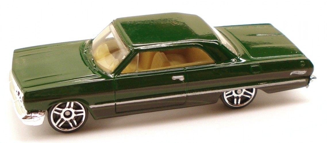63 Chevy Impala Collect Hot Wheels