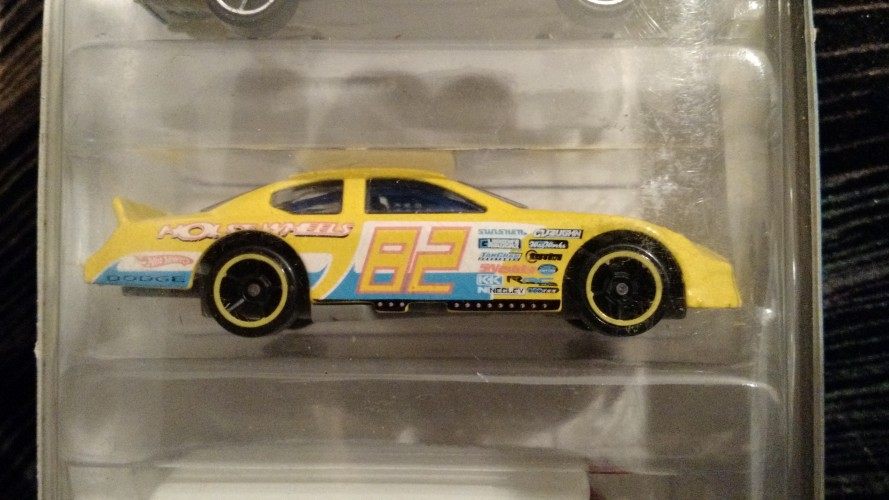 Dodge Charger Stock Car Collect Hot Wheels