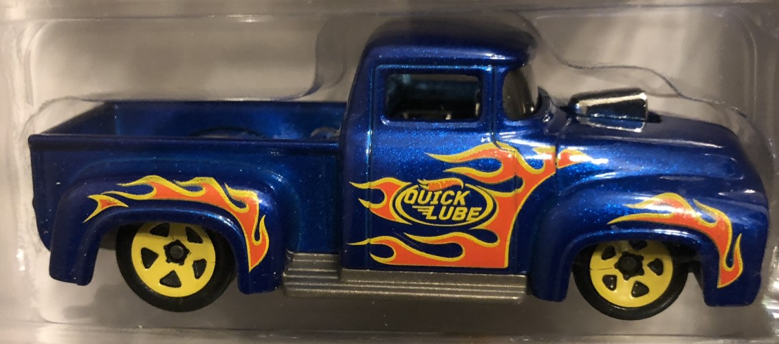 Custom 56 Ford Truck Collect Hot Wheels