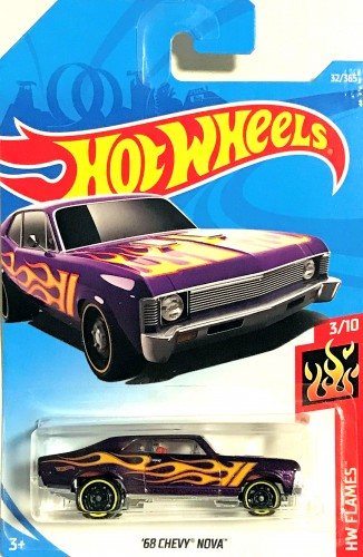 68 Chevy Nova Collect Hot Wheels