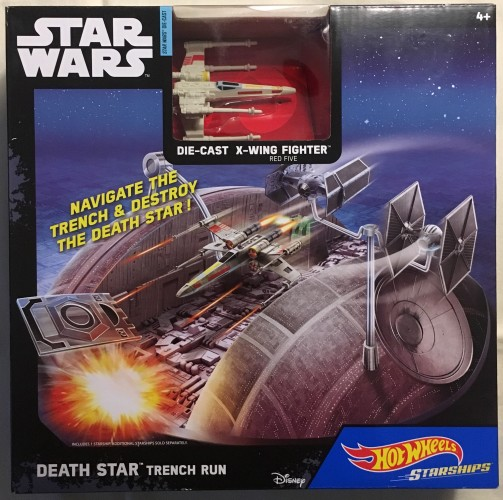 Death Star Trench Run - Collect Hot Wheels