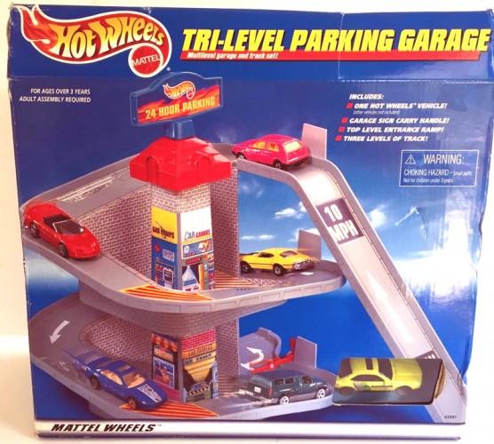 Tri Level Parking Garage Collect Hot Wheels