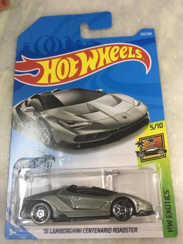 16 Lamborghini Centenario Roadster Collect Hot Wheels