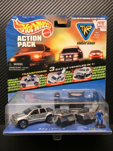 Team Knight Rider Action Pack - DANTE - Collect Hot Wheels