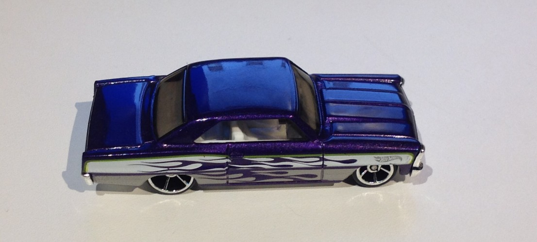 66 Chevy Nova Collect Hot Wheels
