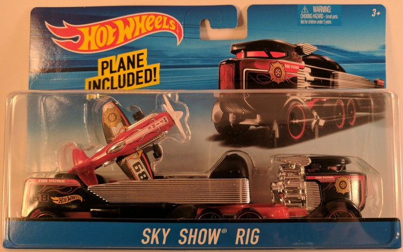 Sky Show Rig Collect Hot Wheels