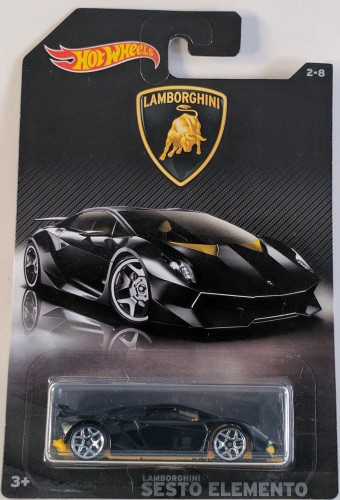 Lamborghini Sesto Elemento Collect Hot Wheels