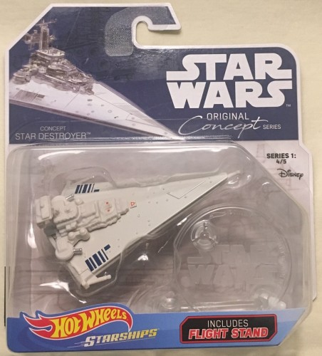 Hot wheels star wars original concept series destroyer
