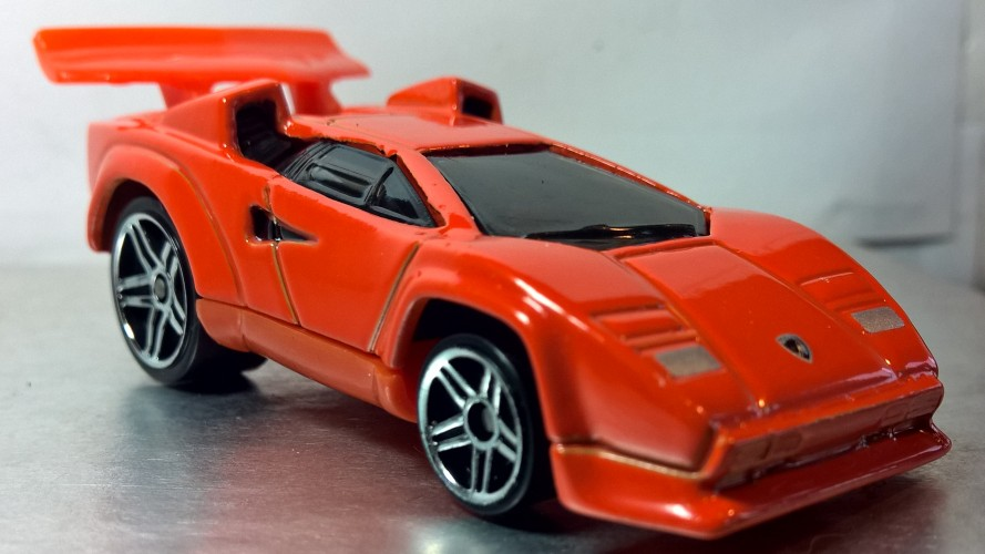 Tooned Lamborghini Countach Collect Hot Wheels