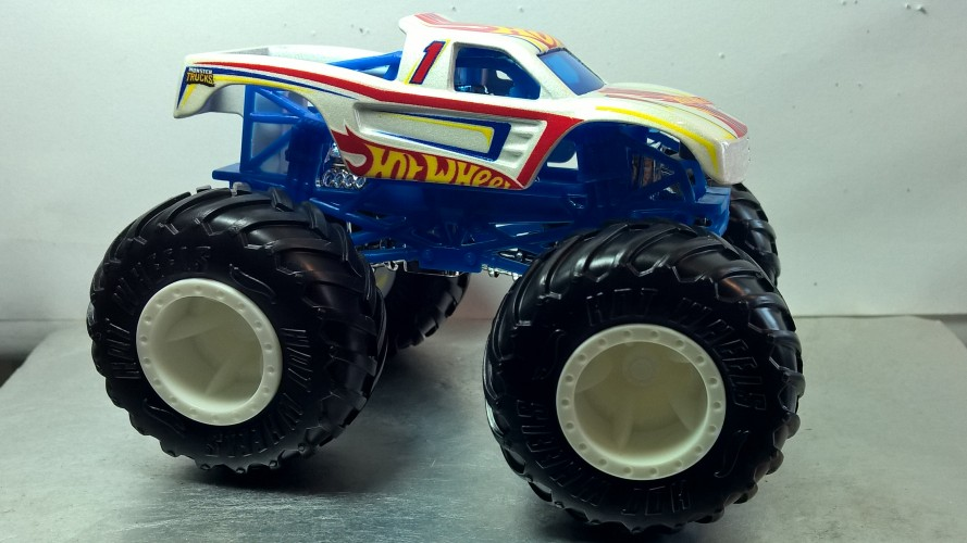 Monster Truck Hot Wheels Racing Collect Hot Wheels