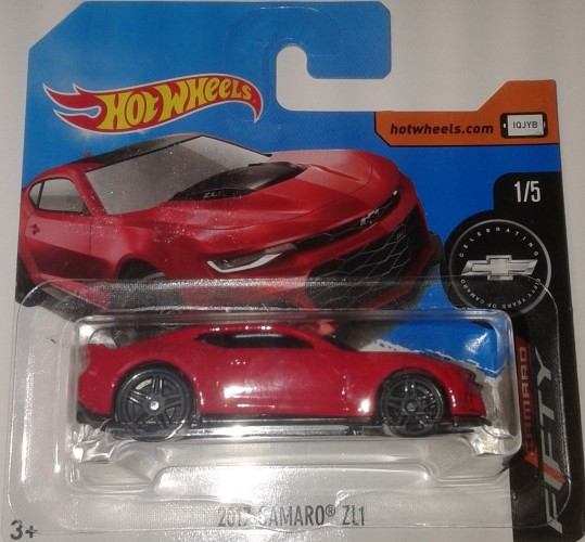 2017 Camaro Zl1 Collect Hot Wheels