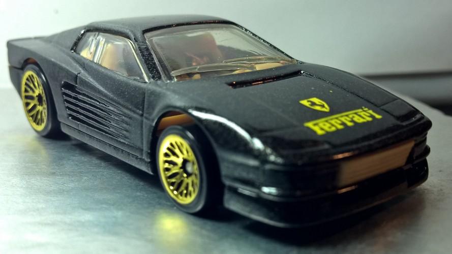 Ferrari Testarossa Collect Hot Wheels