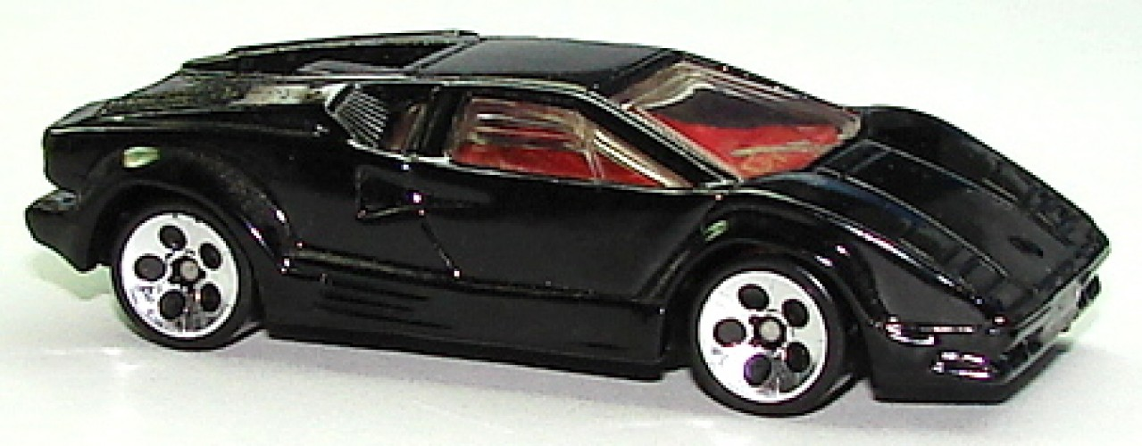 25th Anniversary Lamborghini Countach Collect Hot Wheels
