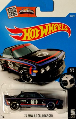 39 73 bmw 3 0 csl race car collect hot wheels. Black Bedroom Furniture Sets. Home Design Ideas