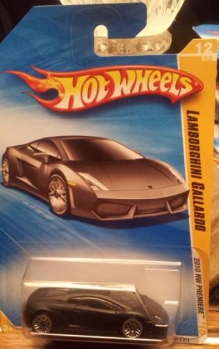 Lamborghini Gallardo Collect Hot Wheels
