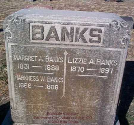 BANKS, LIZZIE A. - Adams County, Colorado | LIZZIE A. BANKS - Colorado Gravestone Photos
