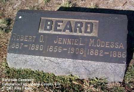 BEARD, M. ODESSA - Adams County, Colorado | M. ODESSA BEARD - Colorado Gravestone Photos