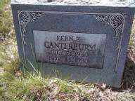 CANTERBURY, FERN E - Adams County, Colorado | FERN E CANTERBURY - Colorado Gravestone Photos