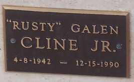 CLINE, (JR.), RUSTY GALEN - Adams County, Colorado | RUSTY GALEN CLINE, (JR.) - Colorado Gravestone Photos