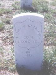KEARSING, HENRY W. - Adams County, Colorado | HENRY W. KEARSING - Colorado Gravestone Photos